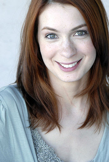 English: Felicia Day, actress and web content ...