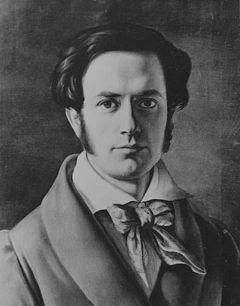 Magnus Selbstbildnis 1827