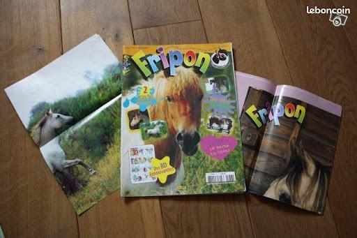 Tous les jeunes cavaliers ont un jour lu un magazine comme Fripon.