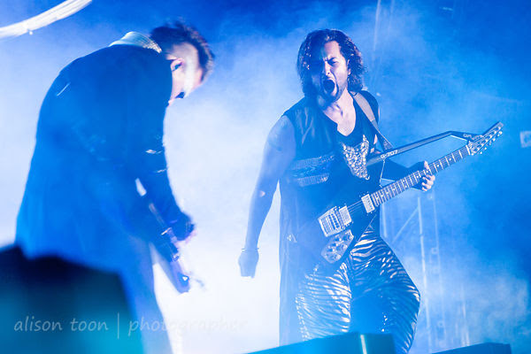 Luke Steele and Nick Littlemore, Empire of the Sun, TBD Fest, 2014