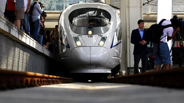 Beijing–Shanghai bullet train
