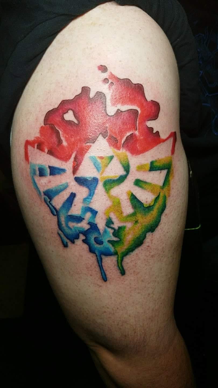 I Got A New Triforce Tattoo Last Friday Zelda