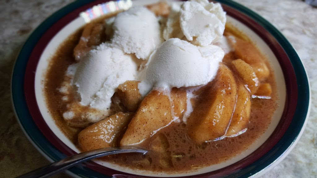 Sugar Free Crock Pot Cinnamon Apples