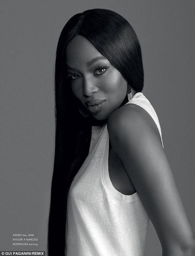 Icon: Naomi foi um dos cinco originais, supermodels definidora era da década de 1990 e tem desfrutado de um período de três décadas como uma rainha passarela