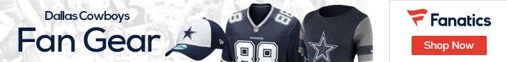 Shop the newest Dallas Cowboys fan gear at Fanatics!