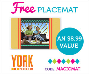 York Photo - One Free Custom Placemat