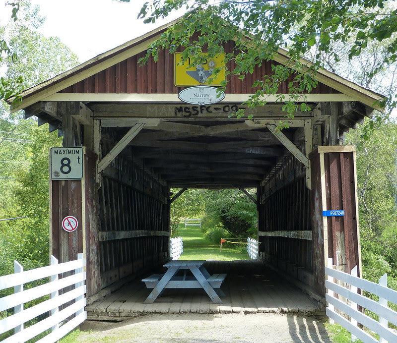 Fitch Bay Covered Bridge