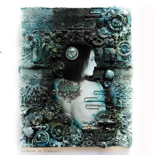Dream - canvas collage