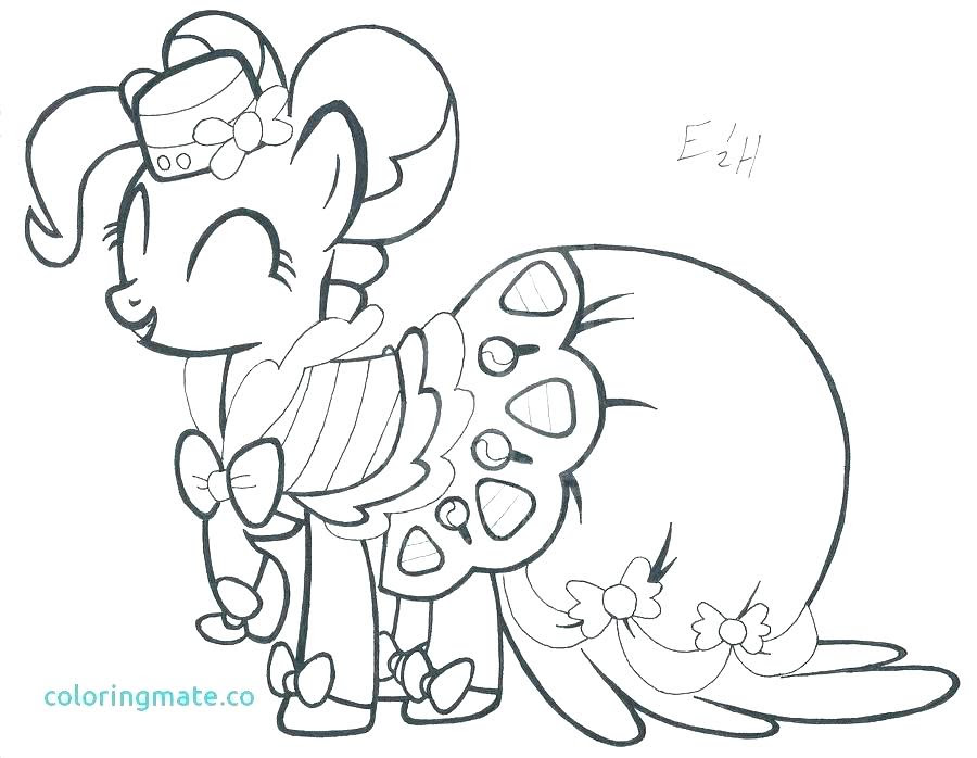 My Little Pony Coloring Pages Pinkie Pie At Getcoloringscom Free