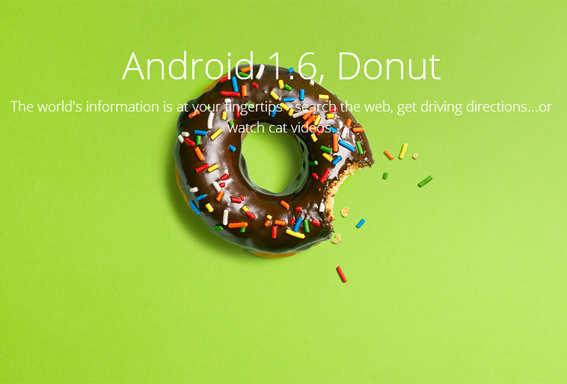 Photo - डोनट (ऐंड्रॉयड 1.6)