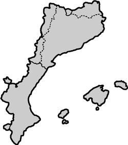 Territoris històrics dels Països Catalans