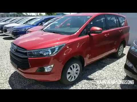 VIDEO: Toyota INNOVA J 2.8L Diesel ENGINE | Red MICA (Philippines) | Video by Marvin Masongsong
