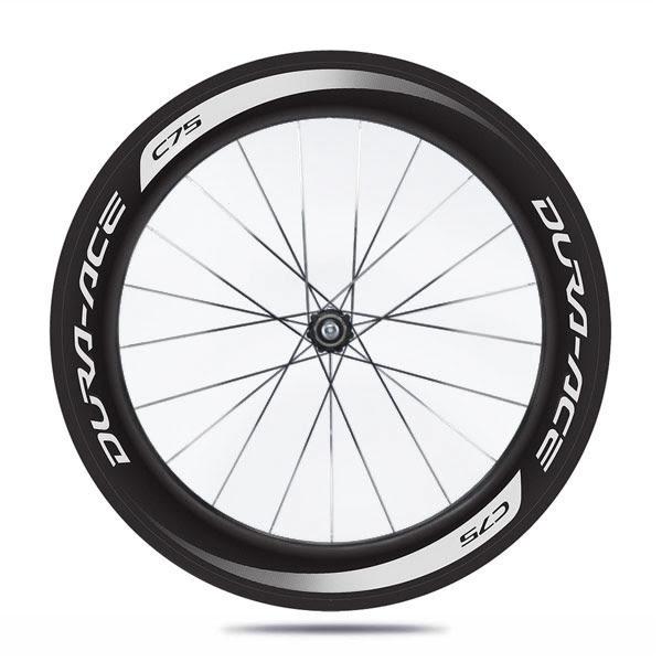 Shimano C75 tubular wheelset - WH-9000-C75