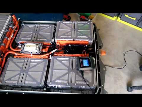 Nissan Leaf bad cells! G1 upgrade to G2 cells замена ячеек батареи поколения 1 и 2.