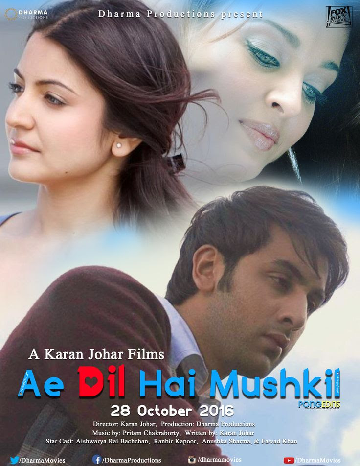 film subtitle indonesia movie download full online bioskop cinema  Nonton Online Ae Dil Hai Mushkil