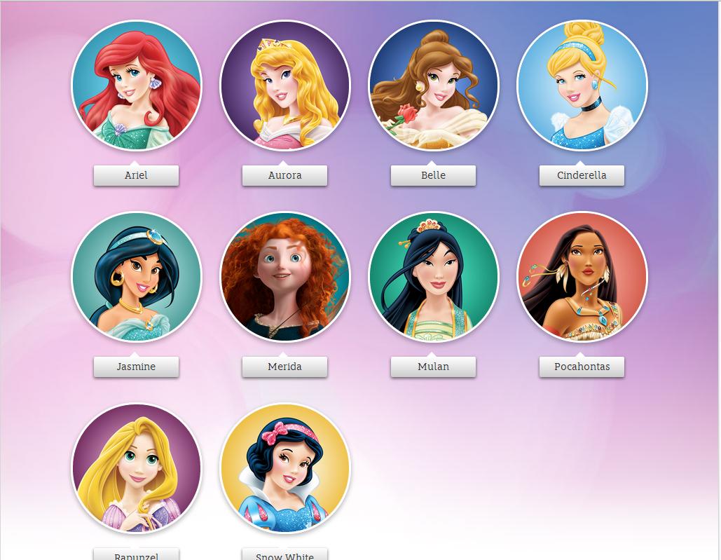 Disney Princess - The Disney Princesses - Disney Princess ...