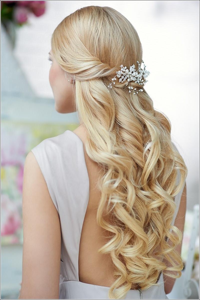 Wedding Hairdos Half Up | Best Wedding Hairs