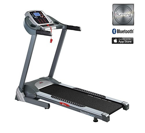 Body Sculpture Motorised Treadmill with Power Incline, Hand Pulse, Body Fat Sensors & iRunning APP