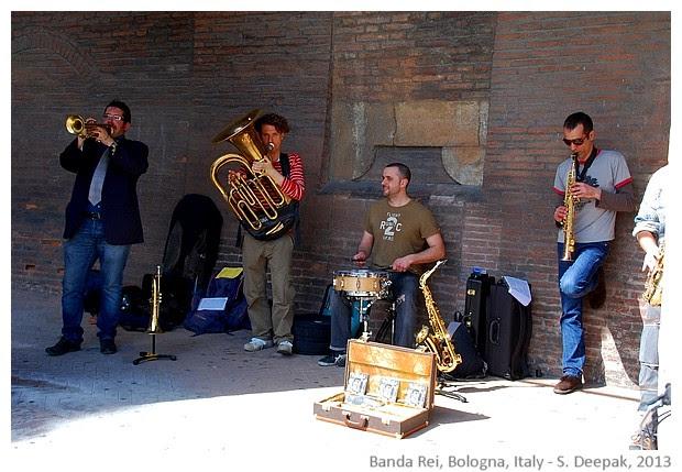 Banda Rei music group, Bologna, Italy - S. Deepak, 2013
