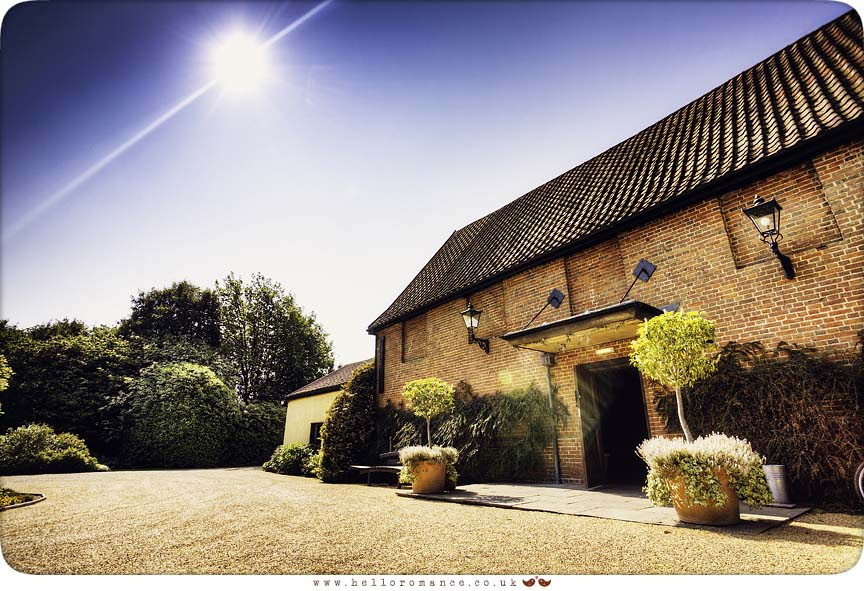Venue Photo, Haughley Park Barn Suffolk Wedding Photography - www.helloromance.co.uk