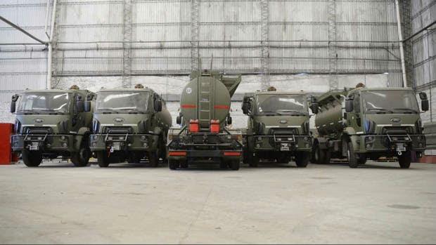 El Ejército recibió 15 vehículos