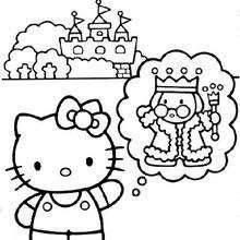 Coloriages Coloriage De Princesse Kitty Frhellokidscom