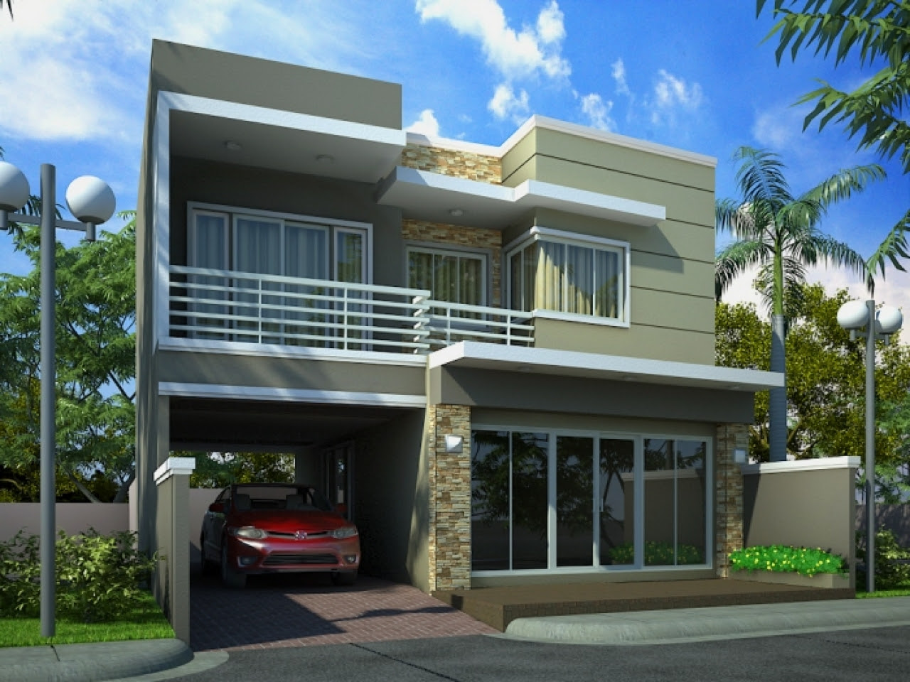 Front Elevation House Photo Gallery Modern House Elevation