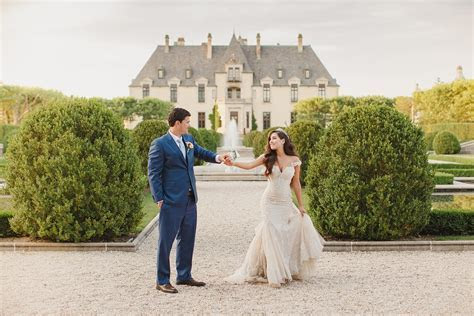 Oheka Castle Fairytale Wedding Photos   Kristen Booth