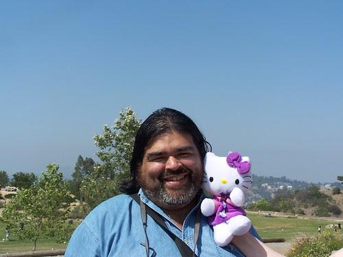 Don Garza at a picnic