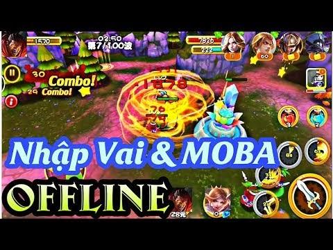 Tải game Nhập Vai & MOBA Offline độc lạ Có Cốt truyện & Tướng trong Liên quân Mobile cho Android 2019