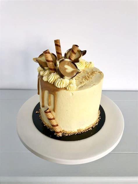 Sassy Coffee and Walnut Birthday Cake   Anges de Sucre