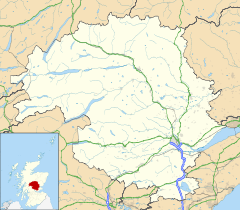 Kinloch Rannoch is located in Perth and Kinross