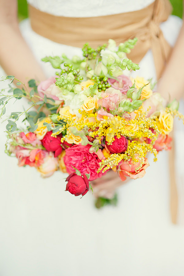 Flowers for Autumn Bride (  bouquet made by me)