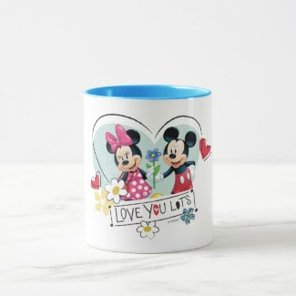 Mickey & Minnie | Love you Lots Mug