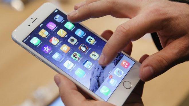 An iPhone 6