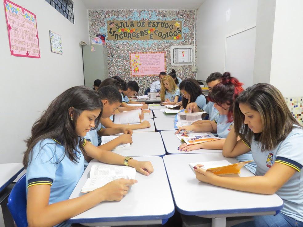 Escola de Ensino Médio em Tempo Integral no Ceará (Foto: Secretaria da Educação (Seduc)/ Divulgação)