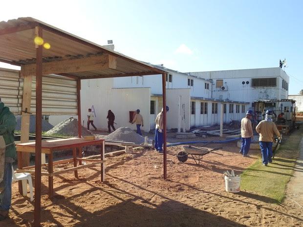 Dois presídios serão construídos em Afonso Bezerra com 603 vagas cada (Foto: Andrea Tavares)