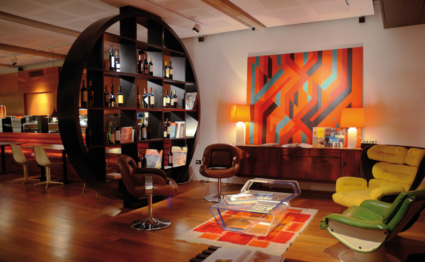 Interior Design Styles - Retro Style - CAS