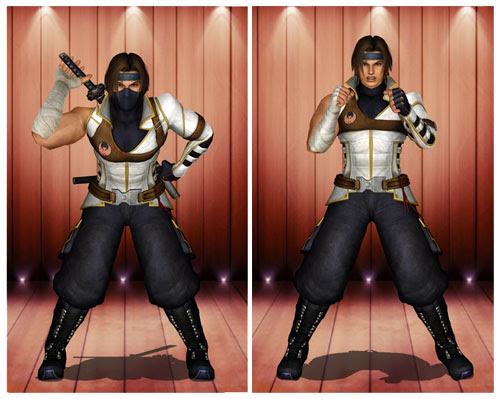 MMD Hayate Ninja Costume