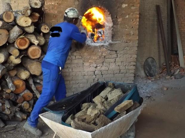 Foram destruídas pelo fogo pedras de crack, maconha e cocaína (Foto: Marcelo Gris/GuaraíNotícias)