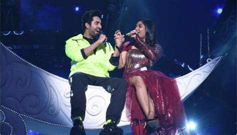 ayushmann khurrana ankonas dreamy moment  indian idol