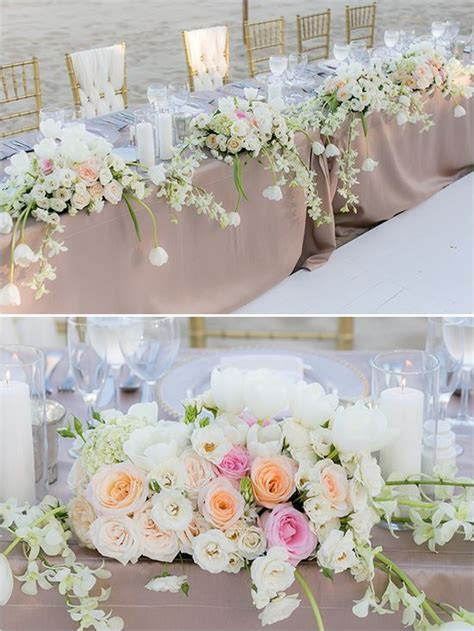 Wedding Wednesday :: Head Table Decor Inspiration   Flirty