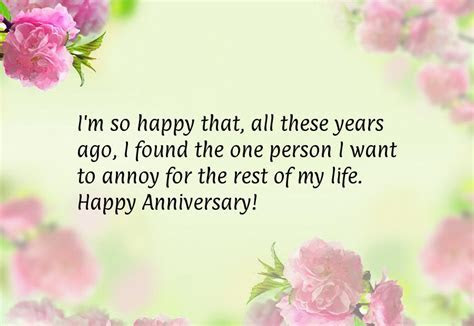 FUNNY WEDDING ANNIVERSARY QUOTES FOR FRIENDS image quotes