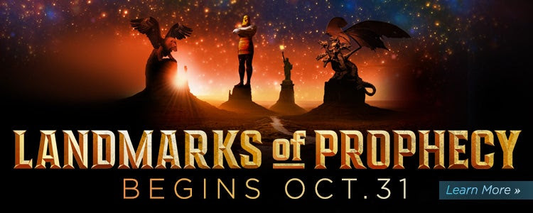 Landmarks of Prophecy starts October 31st!