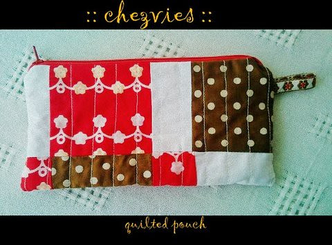 quilted pouch