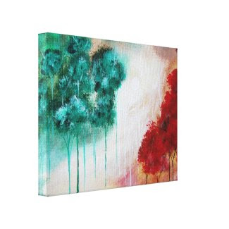 Enchanted Decor Canvas Print From Original Art wrappedcanvas