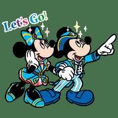 無料スタンプ速報隠しスタンプ東京ディズニーシー 15周年記念