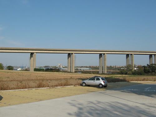 A14 bridge over the Orwell