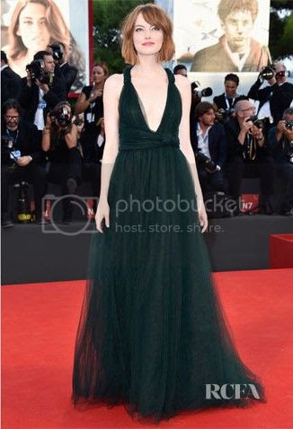 Venice Film Festival 2014 Red Carpet Fashion Round Up photo 2014-Venice-Film-Festival-Emma-Stone_zps5a3220b9.jpg