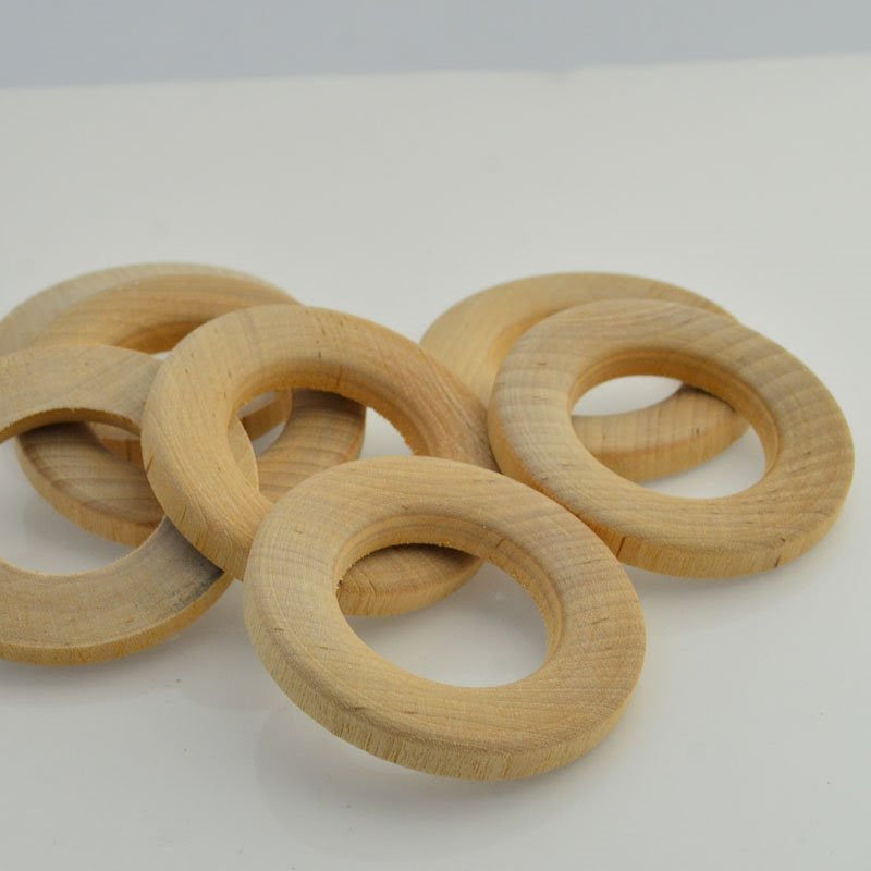 28601048-00 Finding - 60 mm Wooden Ring - Natural (1)